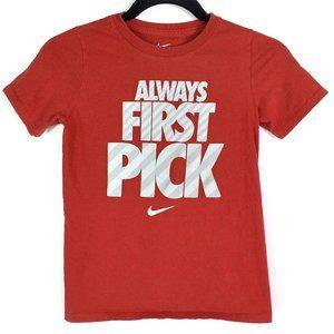 Nike Always First Pick Short Sleeve T-Shirt Boys S